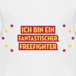 Freikampf Freefighter Free Fight MMA Kampf Fighter T-Shirts - Kinder Premium T-Shirt