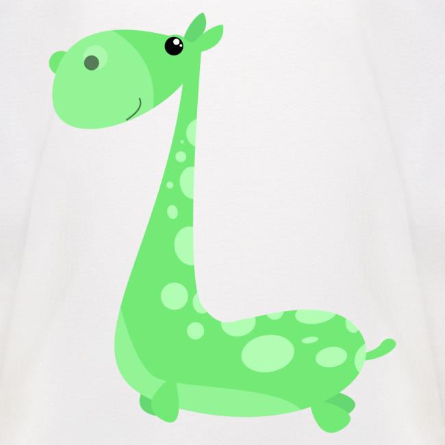 Nessy Green - Baseball T-shirt til børn