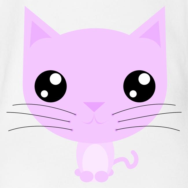 Purdy Kitty Pink - Baby body