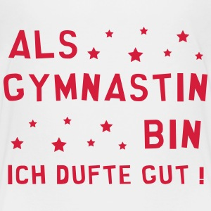 Gymnast Gymnastin Gymnastik Turner Gym Turnerin T-Shirts - Teenager Premium T-Shirt
