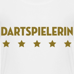 Darts Dartspieler Dartspielerin Dartsport Dart T-Shirts - Teenager Premium T-Shirt