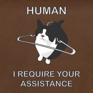 Human, I require your assistance! Bags & Backpacks - Shoulder Bag