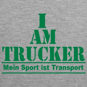 Trucker Transport Tank Tops - Männer Premium Tank Top