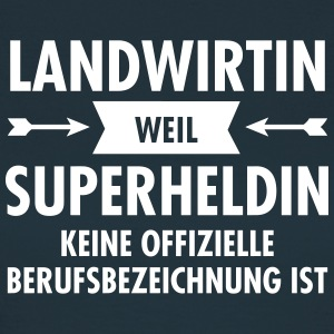 Landwirtin - Superheldin T-Shirts - Frauen T-Shirt