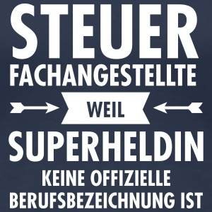 Steuerfachangestellte - Superheldin T-Shirts - Frauen Premium T-Shirt