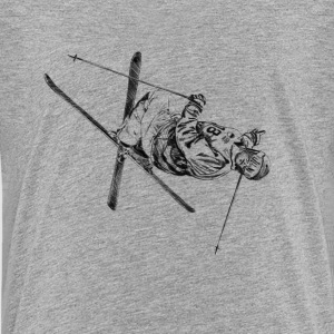 mogul skiing Shirts - Teenage Premium T-Shirt