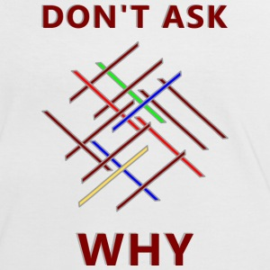 Why T-shirts - Vrouwen contrastshirt