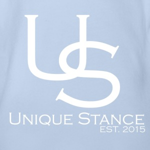 Unique Stance Logo official Baby Bodys - Baby Bio-Kurzarm-Body