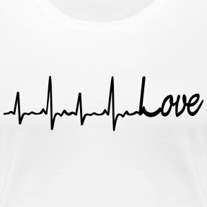 Love all my heart T-Shirts - Frauen Premium T-Shirt