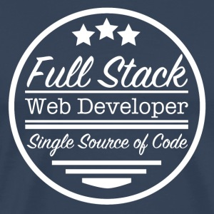 Full Stack Web Developer - Männer Premium T-Shirt