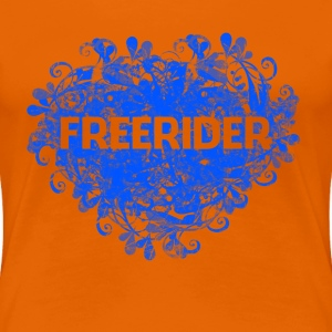 Freerider - Frauen Premium T-Shirt