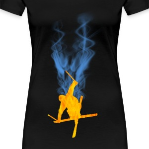Freestyle Ski - Frauen Premium T-Shirt