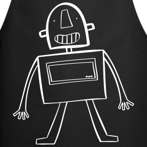 Robot / Geek / Baby / Kid / Bébé / Enfant / Child  Aprons - Cooking Apron