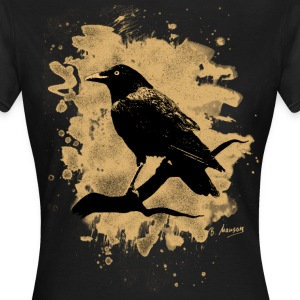 Crow bleached - natural - Frauen T-Shirt