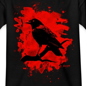 Crow bleached red - Kinder T-Shirt