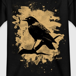 Crow bleached natural - Kinder T-Shirt