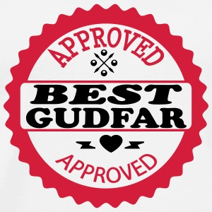 Approved best gudfar T-shirts - Premium-T-shirt herr