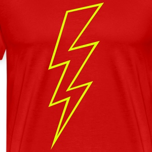 Blitz Symbol Flash Hochspannung High Voltage T-Shirts - Männer Premium T-Shirt
