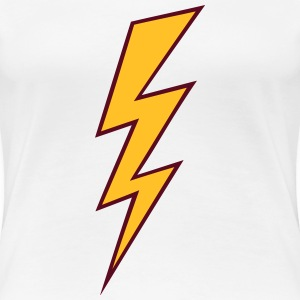 Blitz Zeichen Flash Hochspannung High Voltage T-Shirts - Frauen Premium T-Shirt