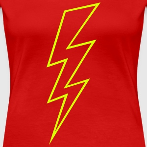 Blitz Symbol Flash Hochspannung High Voltage T-Shirts - Frauen Premium T-Shirt