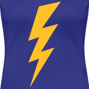 Blitz Logo Flash Hochspannung High Voltage T-Shirts - Frauen Premium T-Shirt