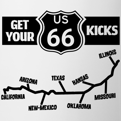 Get your kicks Route 66