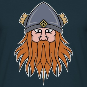 Viking Face T-Shirts - Men's T-Shirt