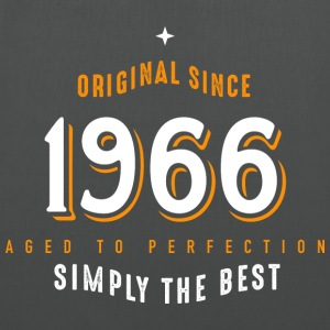 original since 1966 simply the best 50th birthday - Stoffbeutel