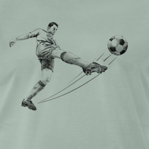 soccer player Tee shirts - T-shirt Premium Homme