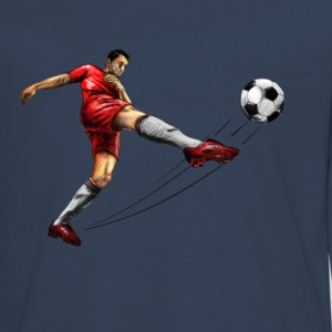 soccer player Long Sleeve Shirts - Teenagers' Premium Longsleeve Shirt