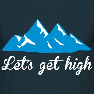 Let's get high Tee shirts - T-shirt Homme