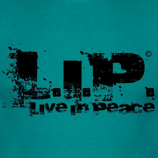 L.I.P. - Live In Peace - Black