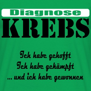 Diagnose Krebs by Claudia-Moda - Männer T-Shirt