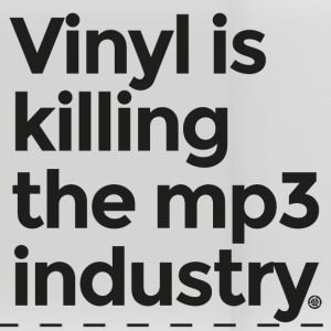 vinyl is killing the mp3 industry - Panoramic Mug