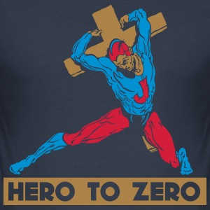 HERO TO ZERO - Tee shirt près du corps Homme