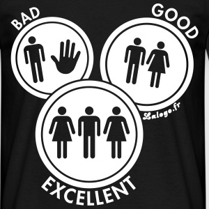 Sex could be Bad, Good or Excellent ! Tee shirts - T-shirt Homme