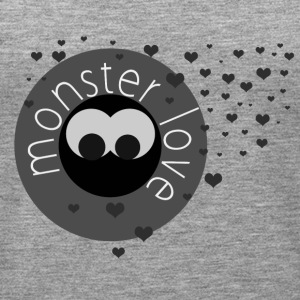 monster love - Canotta premium da donna