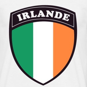 irlande_french_transparen Tee shirts - T-shirt Homme