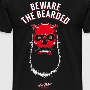 Beware the Bearded Tee shirts - T-shirt Premium Homme