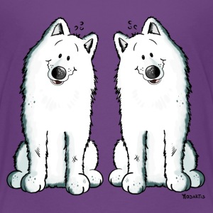Samoyed Team Shirts - Teenage Premium T-Shirt
