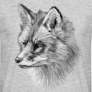 Fox Illustration Tshirt - Men's T-Shirt