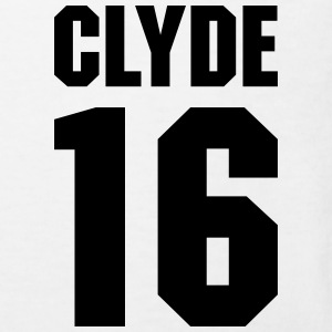 Clyde 16 Teamplayer Shirts - Kids' Organic T-shirt