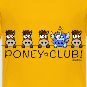 Tee shirt P Enfant, Licorne, Poney Club - T-shirt Premium Enfant