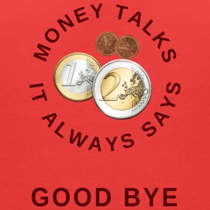Money talks T-Shirts - Frauen T-Shirt mit V-Ausschnitt
