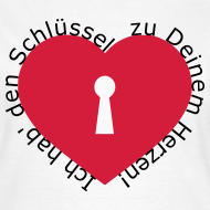 Motiv ~ Herz mit Schlüsselloch
