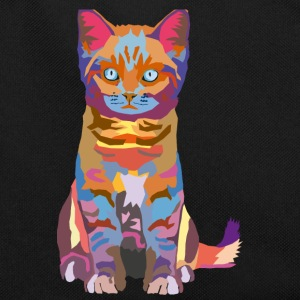 wpap kitten Bags & Backpacks - Retro Bag
