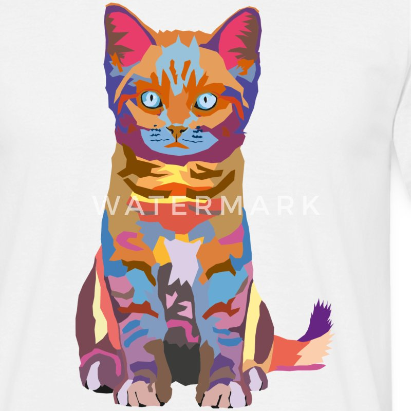 wpap kitten T-Shirts - Men's T-Shirt