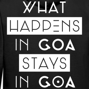 what happens in goa stays in goa Pullover & Hoodies - Männer Premium Hoodie