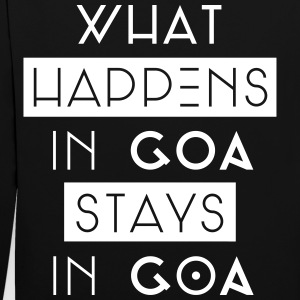 what happens in goa stays in goa Pullover & Hoodies - Kontrast-Hoodie