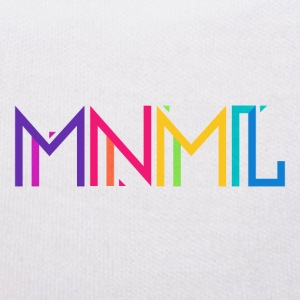 Minimal Type (Colorful) Typograhoy - MNML Design Teddy Bear Toys - Teddy Bear